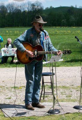 My favorite North Carolina musician, Richard Moore.