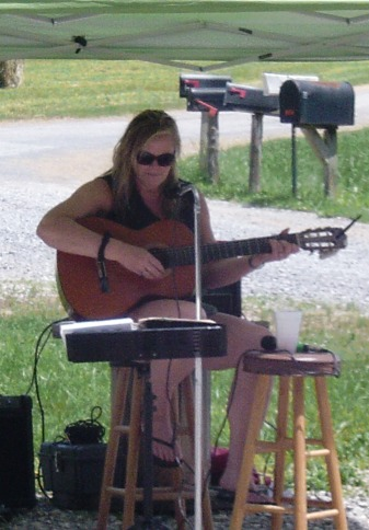 Lovely and talented songwriter, Dawn Osborne.